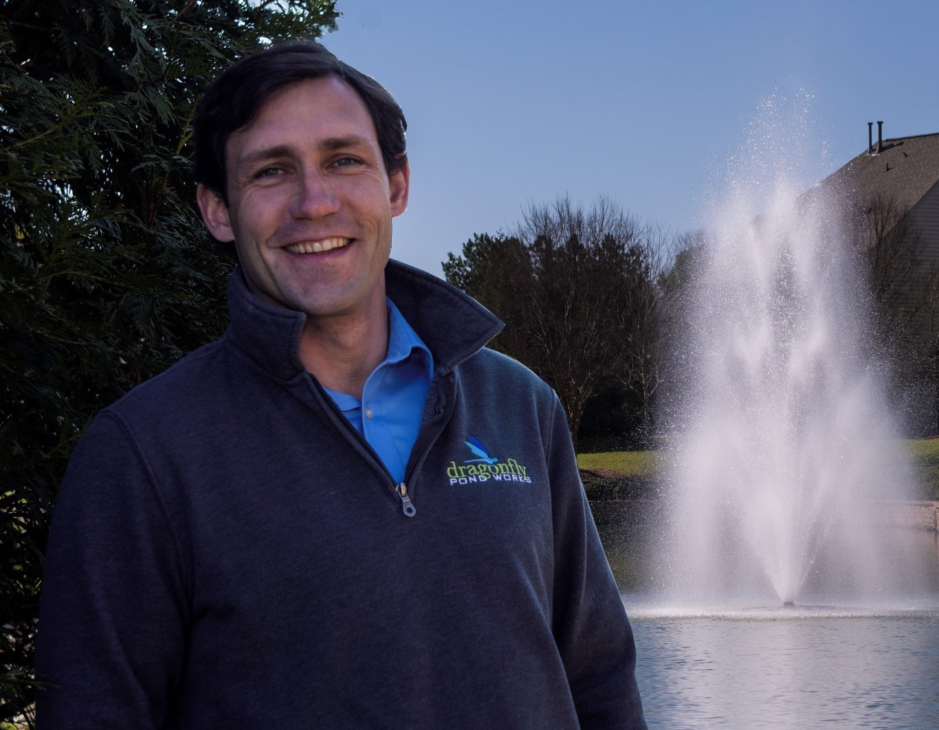 Dragonfly Pond Works triples business with the help of landscaping business software.