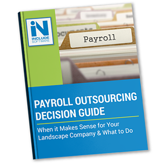 Using an outsourced payroll service for your landscaping company