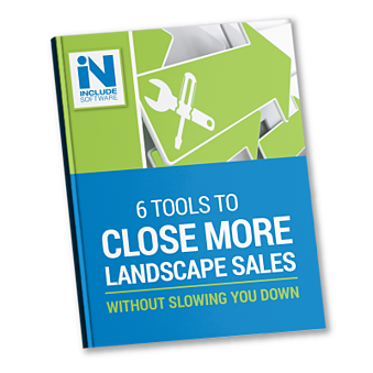 Selling landscape work can be easier and more effective with these great sales tools.