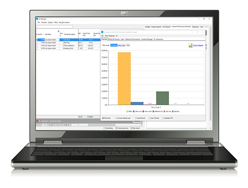 Landscape business management software