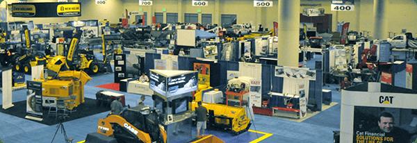 SIMA Trade Show Floor