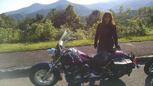 Wendy Koltz Motorcycle