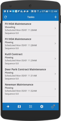 icrewtek snow removal android