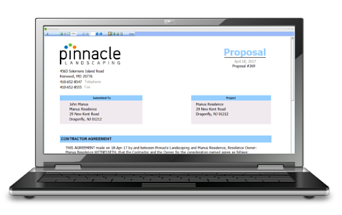landscaping-proposal-software