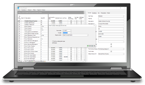 Include Landscape Inventory Software