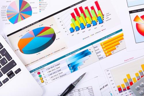 Graphs, charts, salary