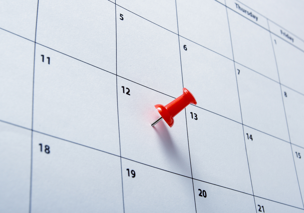 deadline on calendar