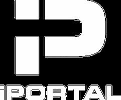 iportal white logo