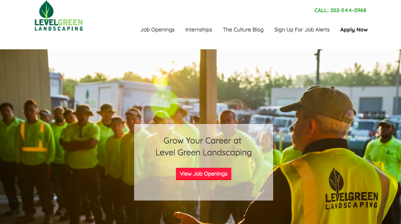 landscaping career center
