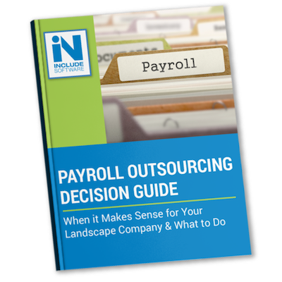 Landscaping payroll services decision guide