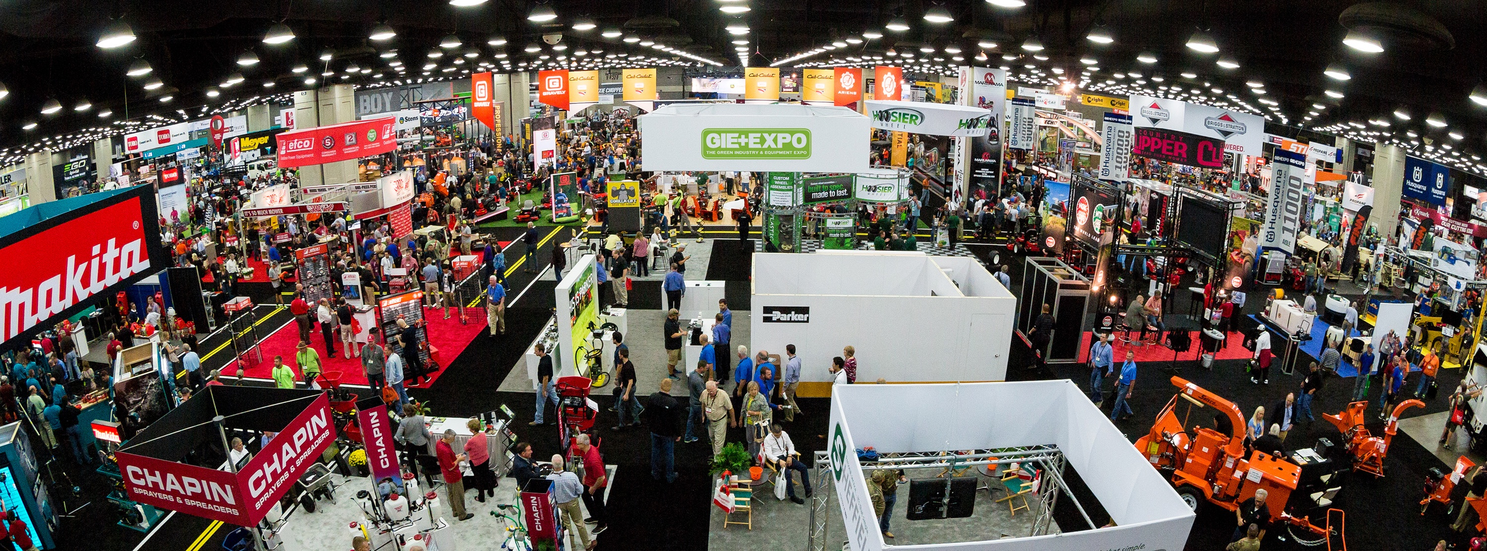GIE Expo and LANDSCAPES 2017