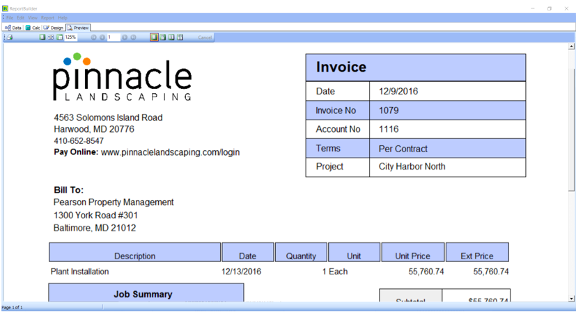 Landscape Business Software Outdoor Goods - Invoice software for landscaping