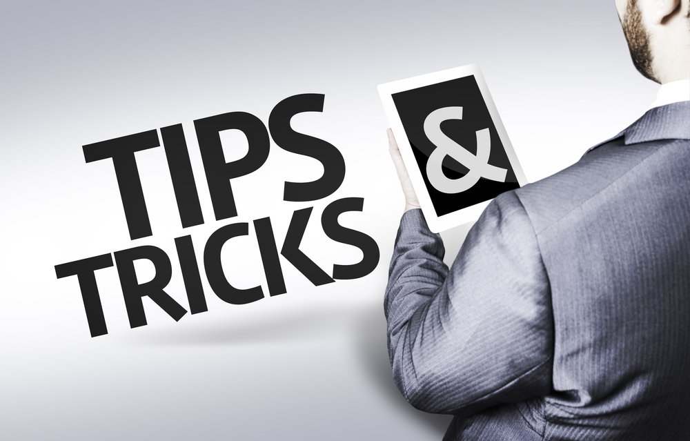 Text Tips & Tricks on tablet