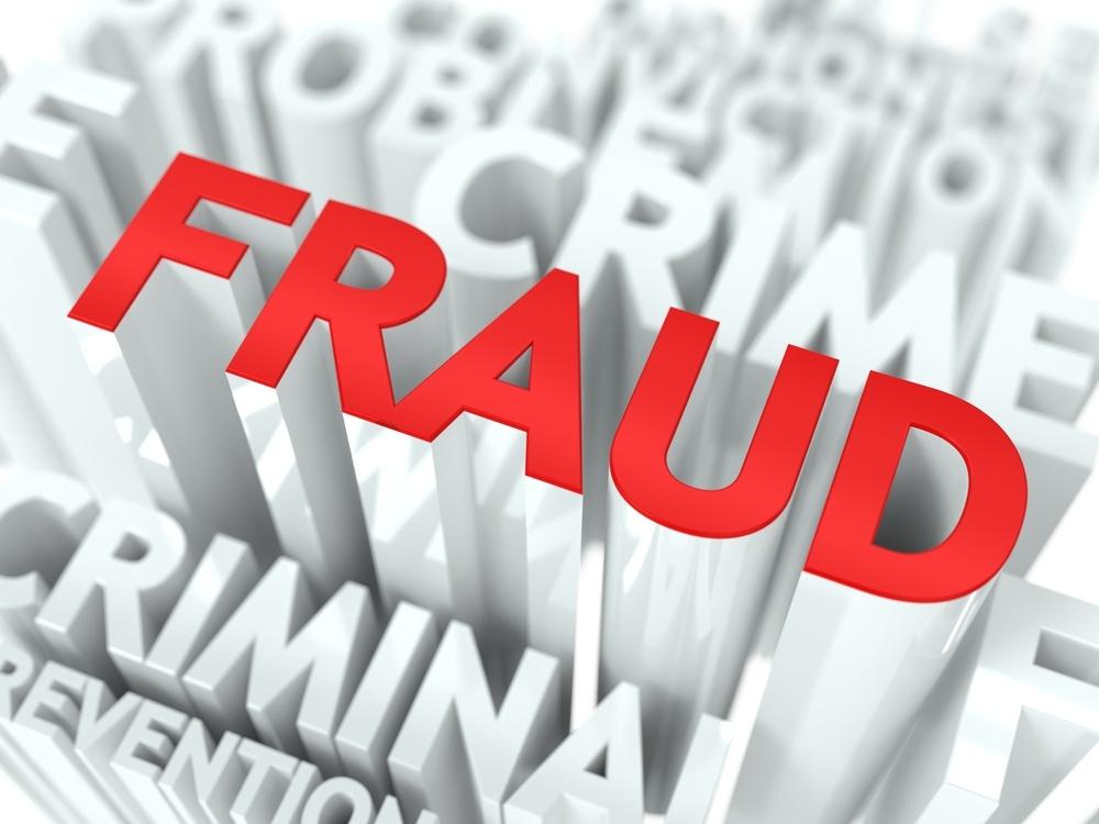 Accounting fraud word cloud